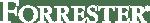 Forrester logo white